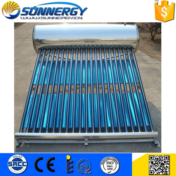 Made in China -40degree to 40 degree enviroment solar water heater Exported to Worldwide