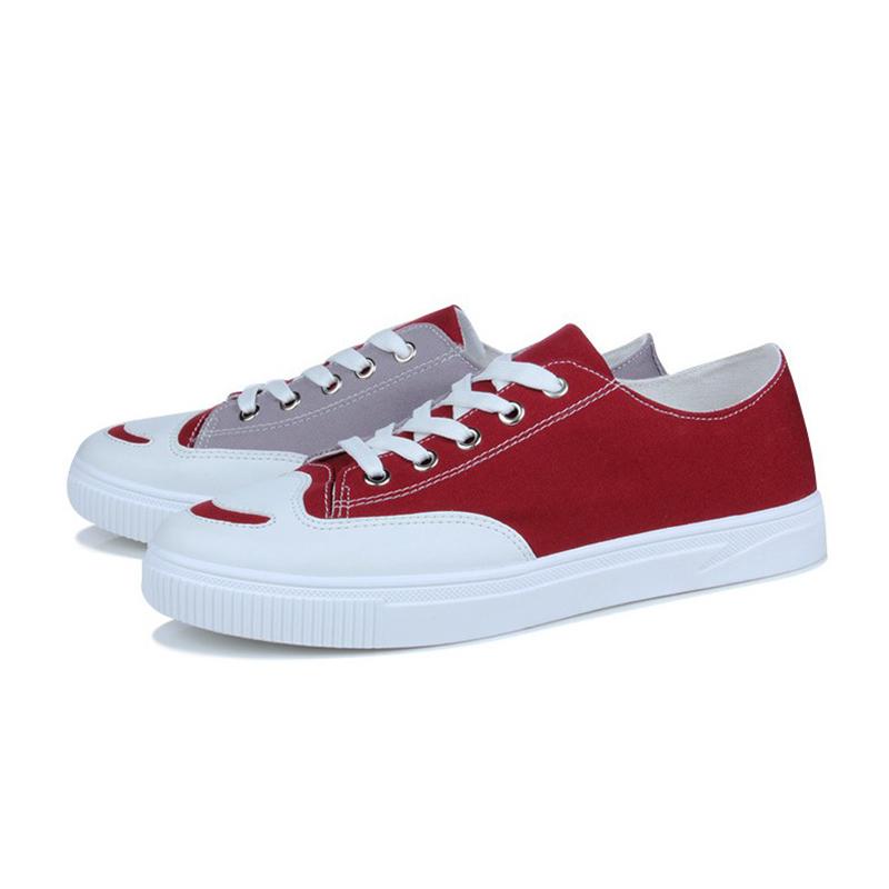 c40731d844d065 Nouveau Chaussures de Toile des Hommes D'été Respirant Low Cut Casual  Chaussures Plaque Chaussures