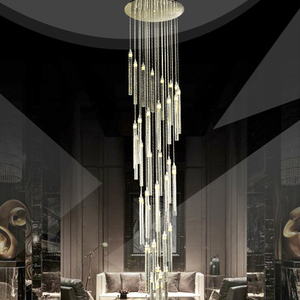 Maria theresa retro loft metal 3 ring glass beads for chandelier light