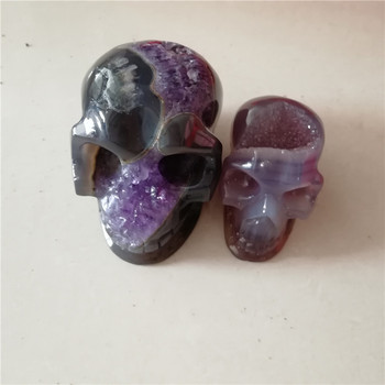 New natural  fluorite quartz crystal skulls carved crytal skulls with healing