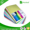 100% original pulp A4 size 10colors mixed colour paper