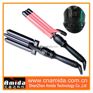 New Style Triple Hair Curler Roller with Various sizes, conical curlers