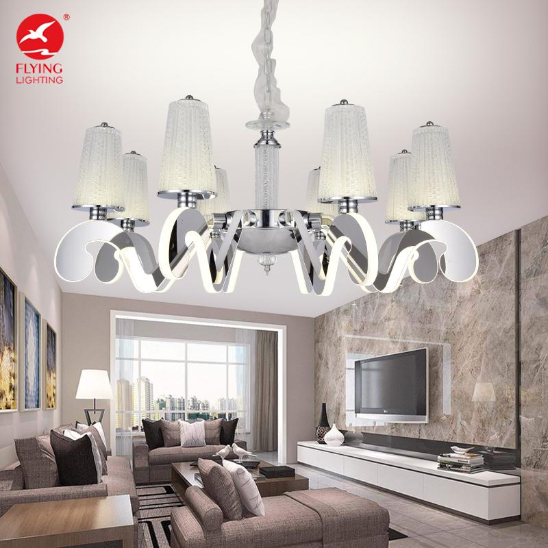 Flying Lighting Hotel Home Depot Modern Stainless Steel Led Crystal Chandelier Hanging Lamp Pendant Light Buy Chandeli Housing Antiqu Vintag Metal