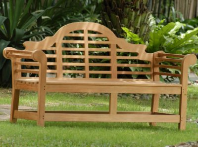 Get Quotations · Atlanta Teak Furniture   Teak Lutyens Bench   5u0027 Grade A