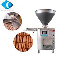 ZKG-3500 Automatic Vacuum Sausage Stuffer Machine Make Sausage With Linker