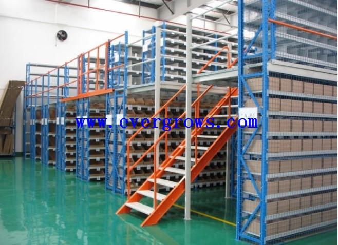 Cheap Warehouse Mezzanine Cost Steel Mezzanine Rack Cost Per