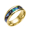 Wholesale India New Blank Shell Plated Gold Ring Design For Men