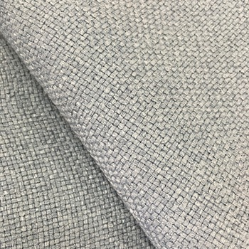 100 Polyester Linen Look Fabric For Sofa Upholstery