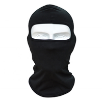 Factory wholesale 100% polyester ski balaclava face cover caps