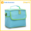 Custom Sky Blue Fully Insulated Waterproof Lunch Cooler Bag For Picnic Shopping