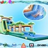 Hot sale top quality adult size inflatable water slides double lane inflatable slides