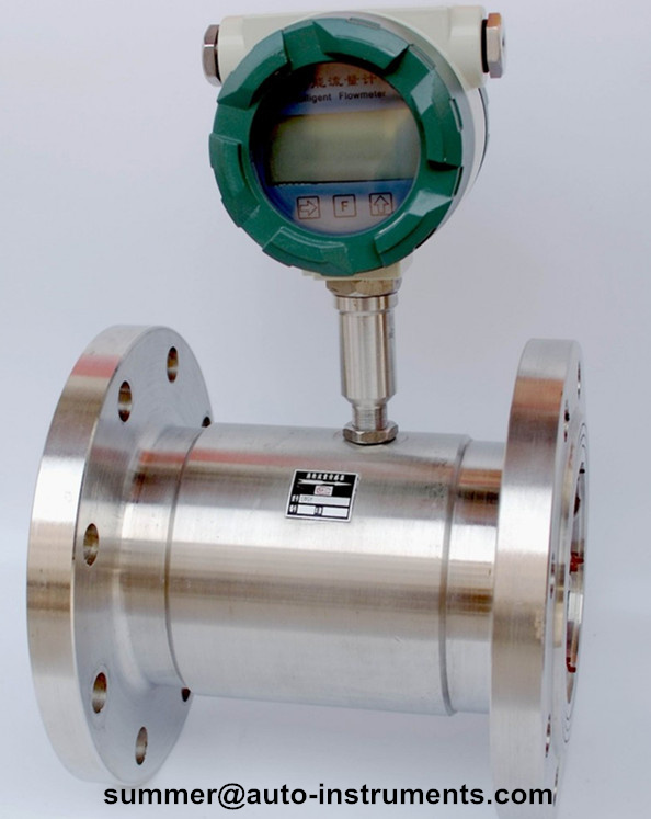 turbine flow transmitter/digital water meter with 4-20mA output