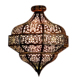 Turkish Moroccan Mosaic metal Chandelier Lights Hanging Ceiling Lamps chandelier