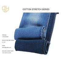 cheapest price and fabric denim jeans regular fit stretchable stone wash 8.2oz