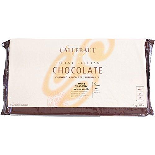 Belgian Dark Chocolate Baking Block - 70.4% - 11 lb block