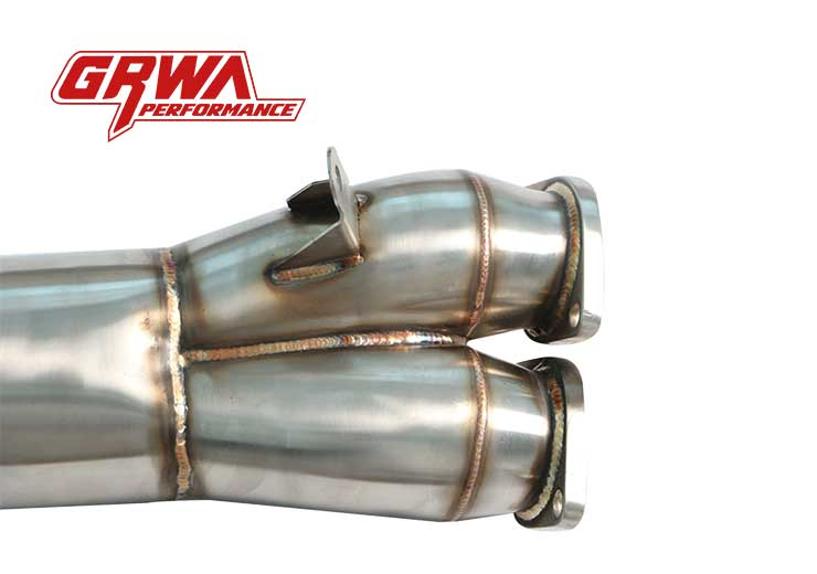 Exhaust Downpipe Stainless Steel N55 Downpipe For BMW 2011-2012 E82 E88 135i E90 E92 335i Single Turbo N55B30