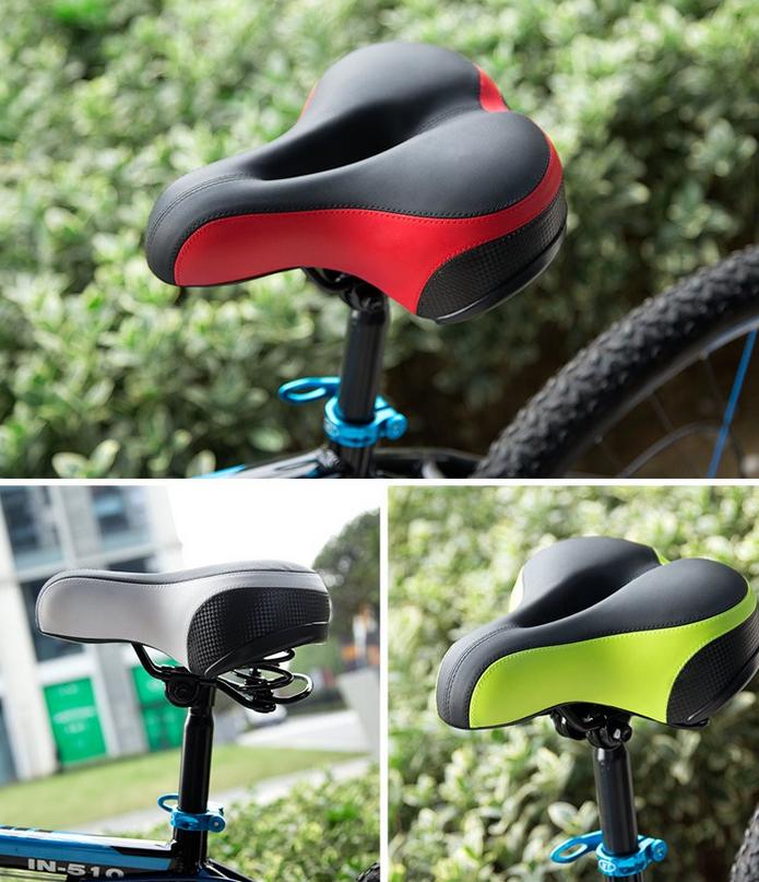 Inbike Exercise Bike Saddle Shock Resistant Seat For Bicycle Mtb ...