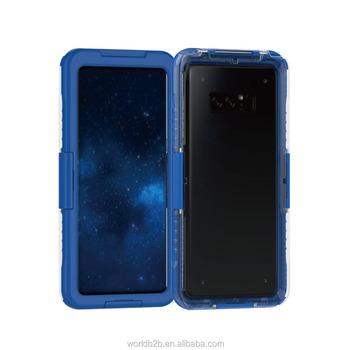 864707ac26c Claro ABS y TPU a prueba de golpes resistente al agua caja del teléfono  para Samsung