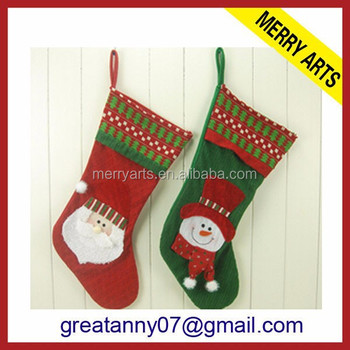 fluorescent christmas decoration christmas street decorations stocking - Christmas Decorations For Stockings