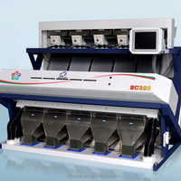 Intelligent millet Color Sorter Machine SC Series yellow rice color sorting
