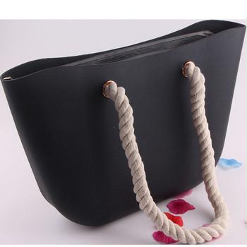Alibaba Co Uk Hot Sale Rope Shoulder Bag Silicone Eva Tote Beach ...