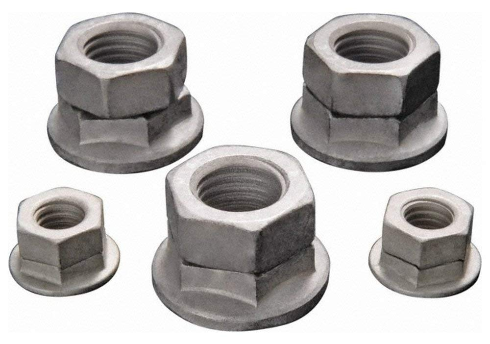 M12x1.75 Metric Coarse, Class 10 Steel Hex Lock Nut 19mm Width Across Flats, 17.5mm High, Right Hand Thread, Magni 565 Finish 50 Pack