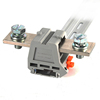 DIN rail-mounted Terminal blocks for OT/SC lugs crimped wires flexible busbar for high current voltage