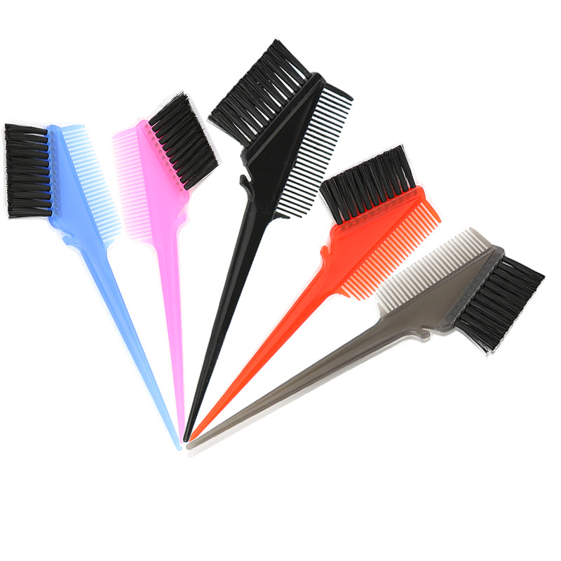 High quality colors Plastic Double Sided Hair  Comb brush for Hair Salon