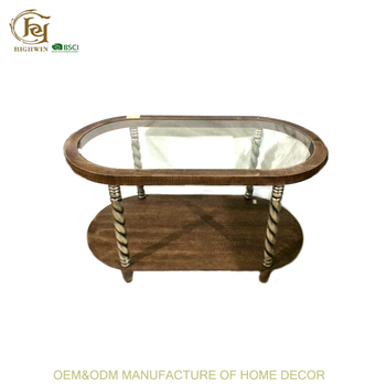 Oval Glass Vitreous End Table For Living Room - Buy Antique Glass Top End  Table,Bedroom Glass End Tables,Unique End Tables Product on Alibaba.com