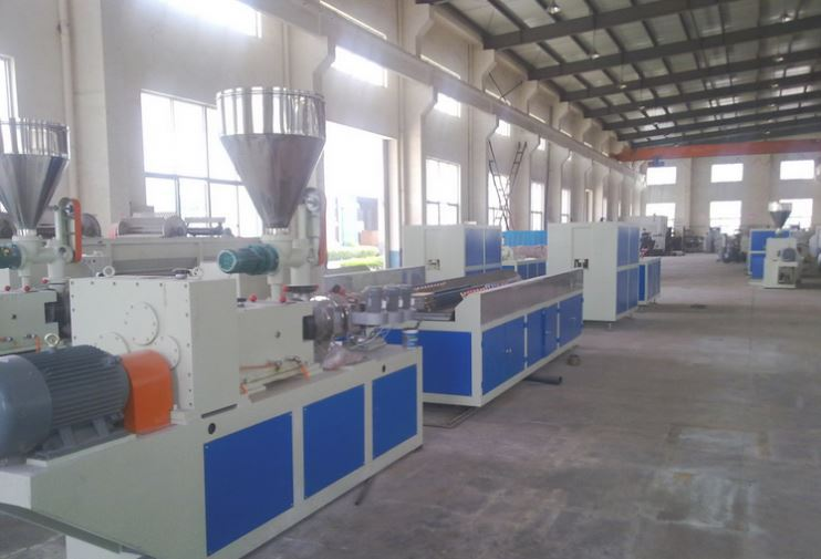 wpc machine factory upvc fascia board machine