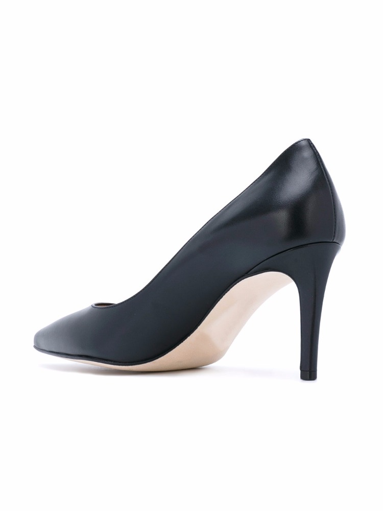 ladies women heel shoe Sexy black high casual summer pointed toe pumps d5181q