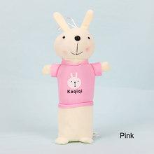 Милый плюшевый чехол-карандаш с кроликом, органайзер для хранения канцелярских принадлежностей, школьная сумка для офиса, Escolar(Китай)