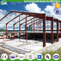 Ce Galvanized Steel Structure/Roof Trusses Steel Frame Shed/Low Cost Warehouse