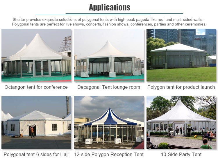 Hexagonal Aluminum Frame Pop Up Tent Canopy 8X10 & Hexagonal Aluminum Frame Pop Up Tent Canopy 8x10 - Buy Hexagonal ...