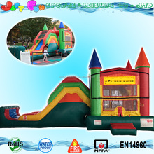 jump climb n slide all sports inflatable bouncer house for kids