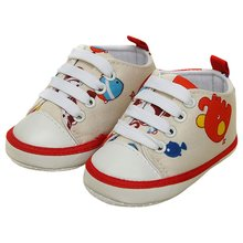 0 18M Newborn Kids Baby Boy Girl Laces Baby Shoes Soft Sole Toddler New