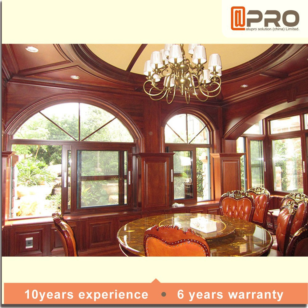 Speciaal ontwerp ronde venster vaste ronde venster voor ronde ...