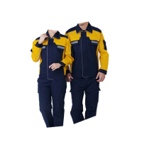 Men Women Work Clothing Jacket and Pants Workwear Sets Reflective strip Long Sleeve