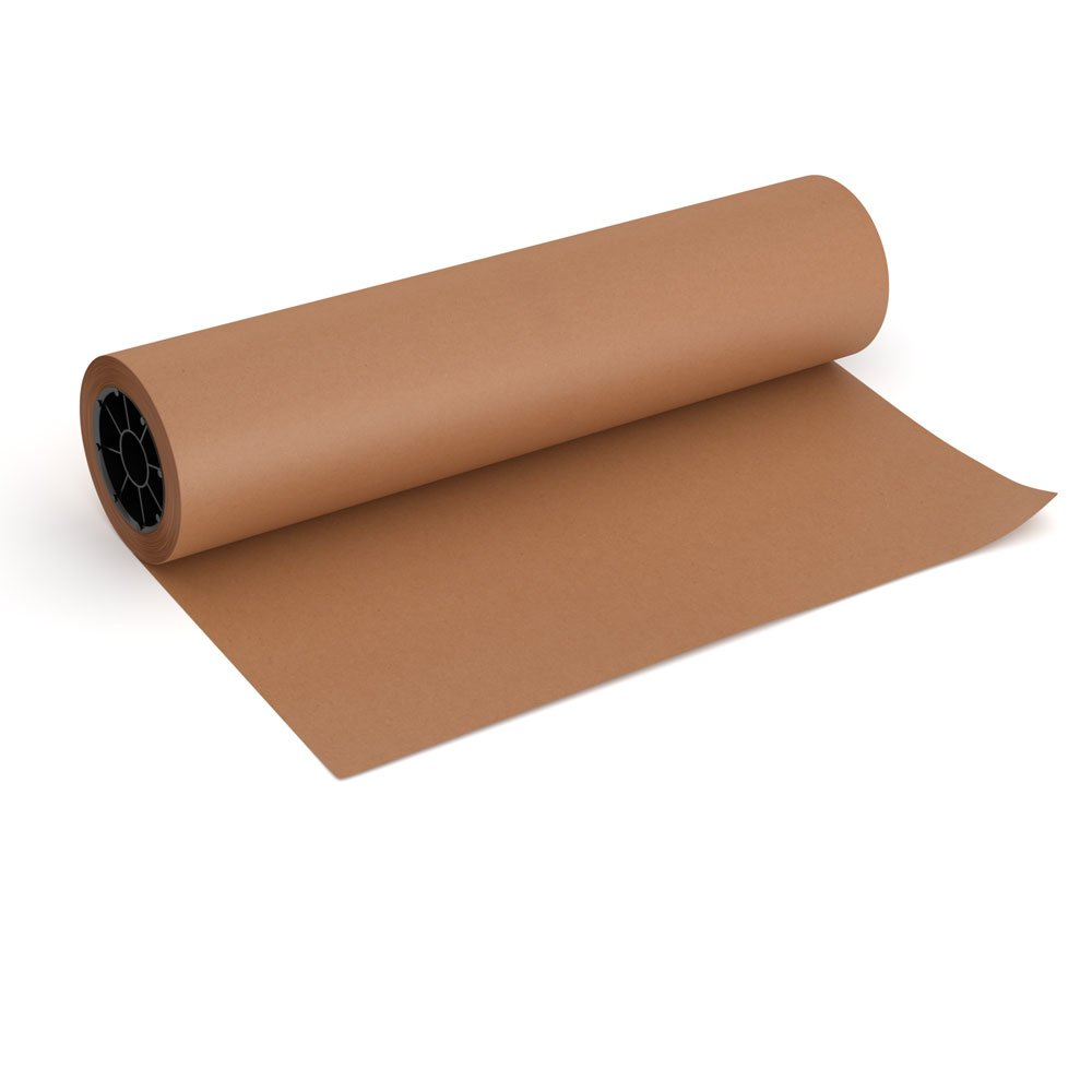 Pink Kraft Butcher Paper Roll 18 Inch X  Inch