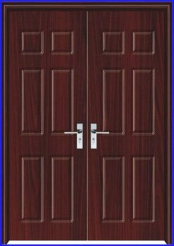 Fashion Exterior Double Door Design Pj Li087