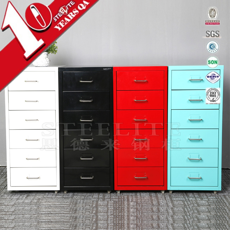 Custom made multi drawer index card file cabinet / helmer 6-tier drawer of chest