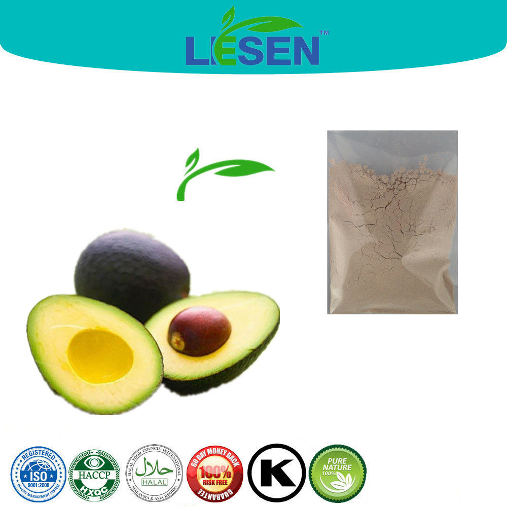 Avocado Fruit Extract Powder (10:1,20:1, 5%,10% phytoxanthin)Persea americana Mill