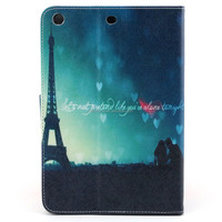 sublimation leather case for IPAD MINI flip case