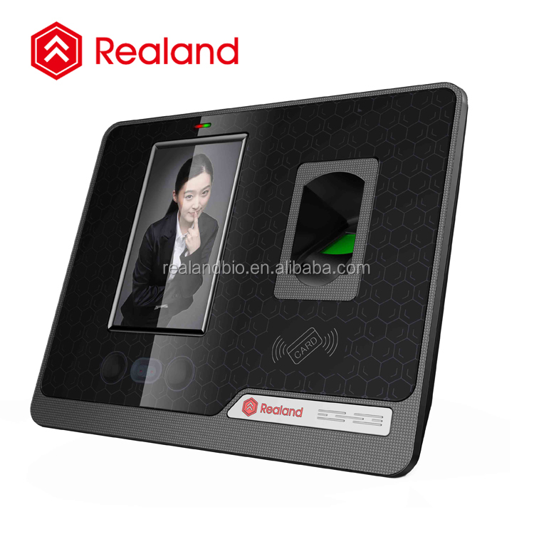 time attendance facial recognition device with door access