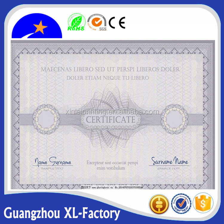 plain certificate paper plain certificate paper suppliers and