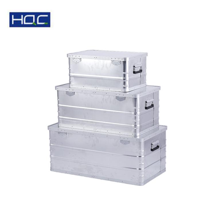 Superiore in alluminio di Qualità di trasporto di caso di immagazzinaggio in volume diverso