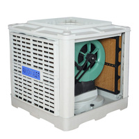 Water Cooled Window Aircooler Low Power Large Industrial Fan For Air Cooler