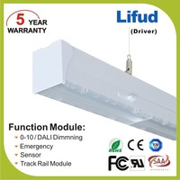 LED linear trunking system 40w hanging light fixtures