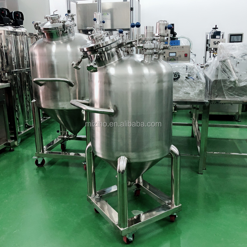 New Condition and Online support Agitator Heating Mixer Type and Referring Dimension(L*W*H)stainless steel mixing tank