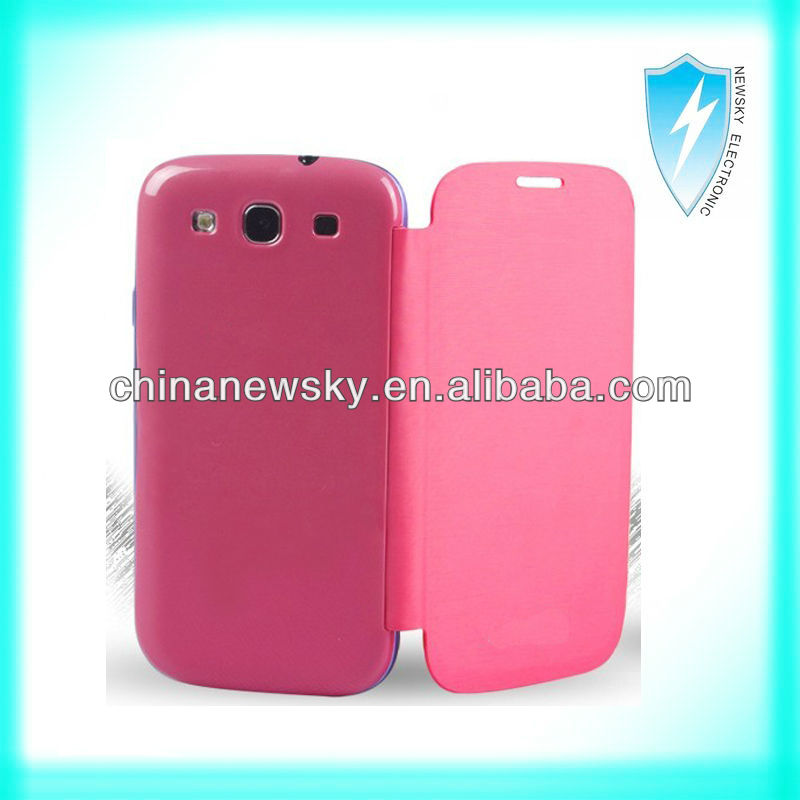 leather case for samsung galaxy s3 i9300/leather case for samsung s3